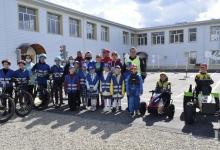 Президент Татарстана Рустам Минниханов открыл автогородок в отремонтированной школе в Тукаевском районе