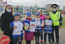 Юные татарстанцы приняли участие в акции «Письмо водителю»