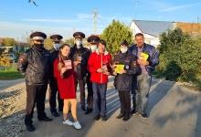 Более ста тысяч дворов посетили участники социальной кампании «ПДД в PROвинцию» на Ставрополье