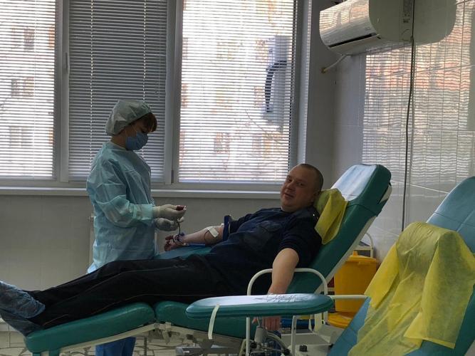 В Татарстане сотрудники ГИБДД сдали кровь для пострадавших в ДТП