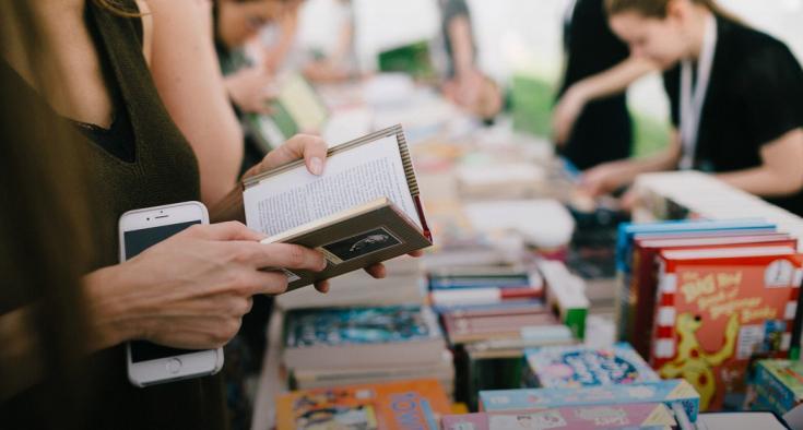 Детская программа на Летнем книжном фестивале «Смена» в Казани