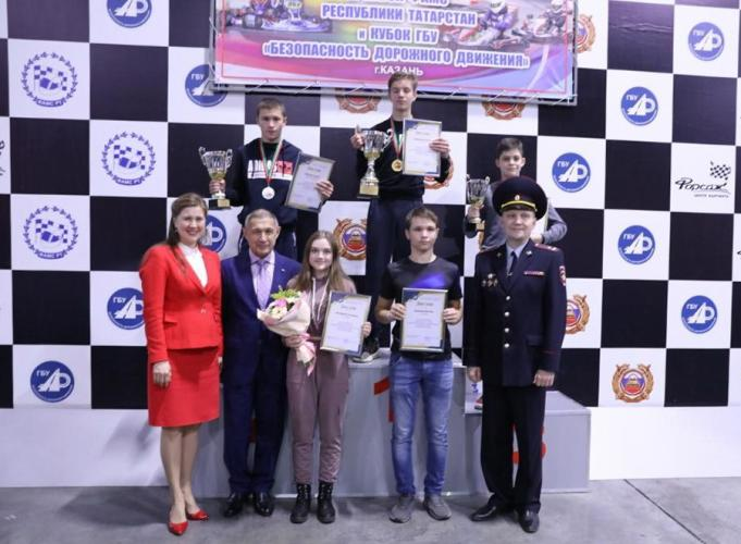 В Казани наградили победителей и призеров республиканских соревнований по картингу