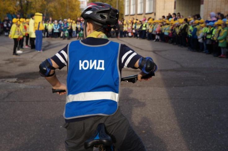 В Татарстане более 200 мальчишек и девчонок прошли посвящение в юные инспекторы движения