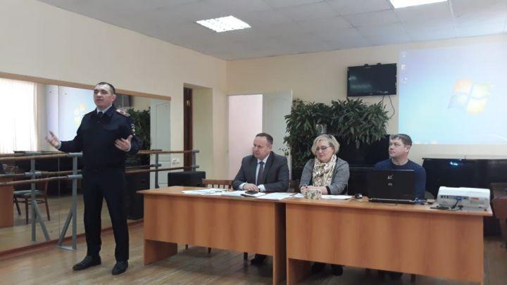 Совещание руководителей образовательных организаций Рыбно-Слободского района