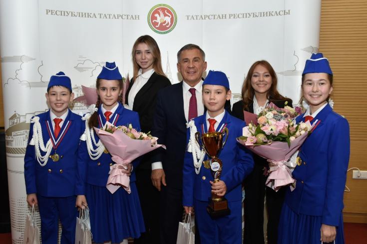 Команда ЮИД Татарстана заняла первое место во Всероссийском конкурсе «Безопасное колесо»