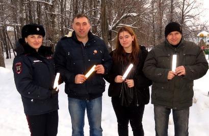 Профилактический рейд «Пешеход» проведен в Починковском районе