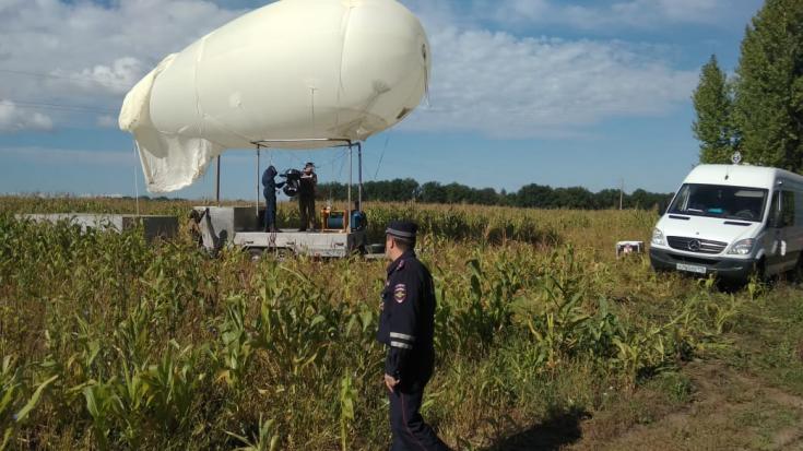 Госавтоинспекция МВД по Республике Татарстан использует аэростаты для фиксации нарушителей ПДД