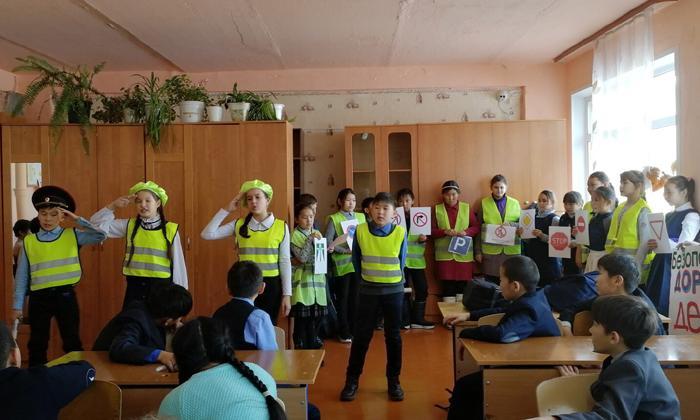 В Тункинском районе Бурятии состоялось посвящение в ЮИД