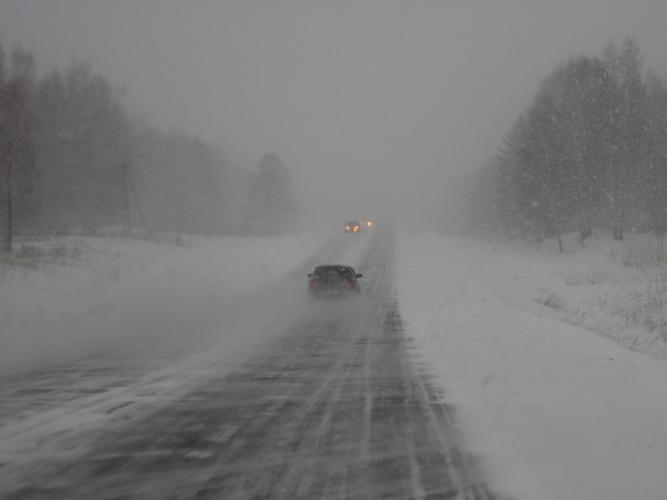 Госавтоинспекция МВД по Республике Татарстан предупреждает об ухудшении погодных условий