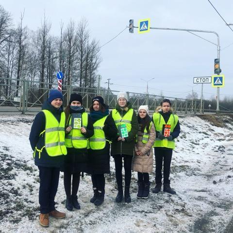 В Починковском районе сотрудники ГИБДД совместно с отрядом ЮИД провели мероприятие «Заметный пешеход: говори «ДА» культуре»