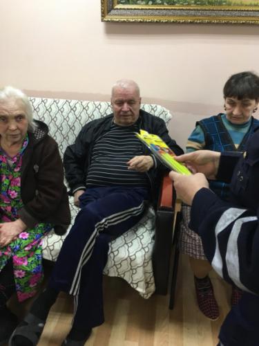 В Татарстане проходят специальные занятия для пожилых участников дорожного движения