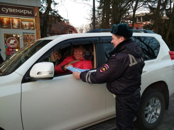 В Светлогорске сотрудники Госавтоинспекции провели профилактическое мероприятие «Заметный пешеход»