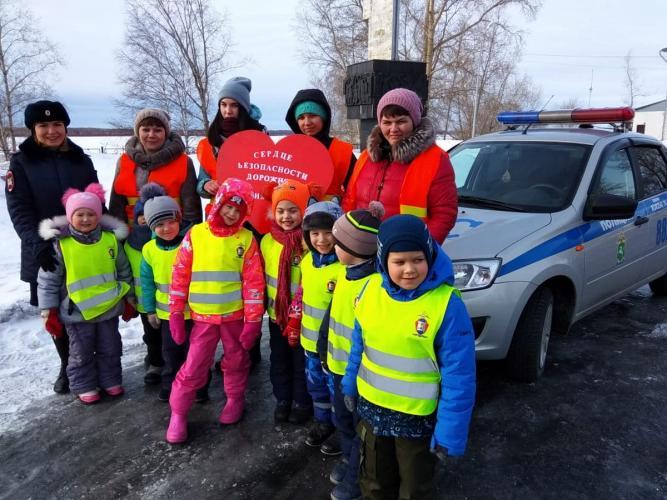 В Томской области Госавтоинспекция проводит акции, призывающие к безопасности на дорогах
