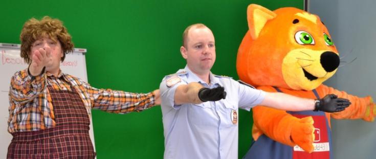 В рамках проекта «Час детской безопасности» сотрудниками кировской Госавтоинспекции провели второе онлайн занятие