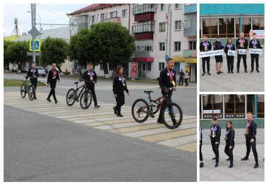Тюменские каратисты провели на улице мастер-класс дорожного уважения
