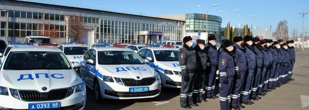 Автопарк тамбовской полиции пополнился новыми патрульными автомобилями