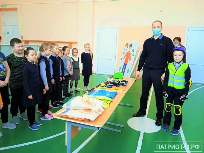 Мобильный комплекс «ЛАБОРАТОРИЯ БЕЗОПАСНОСТИ» в гостях у школьников.