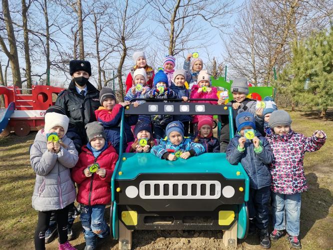 В дошкольных учреждениях Зеленоградского района проходит профилактическое мероприятие «Безопасную дорогу маленькому пешеходу»
